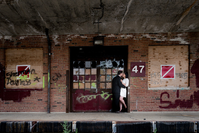 Orange County Engagement Photo Urban Theme