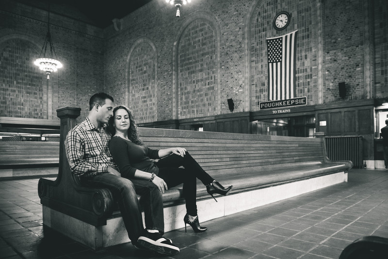 Poughkeepsie Train Station Pictures Engagement