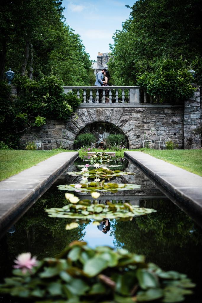 The Castle at Skylands Manor NJ Engagement