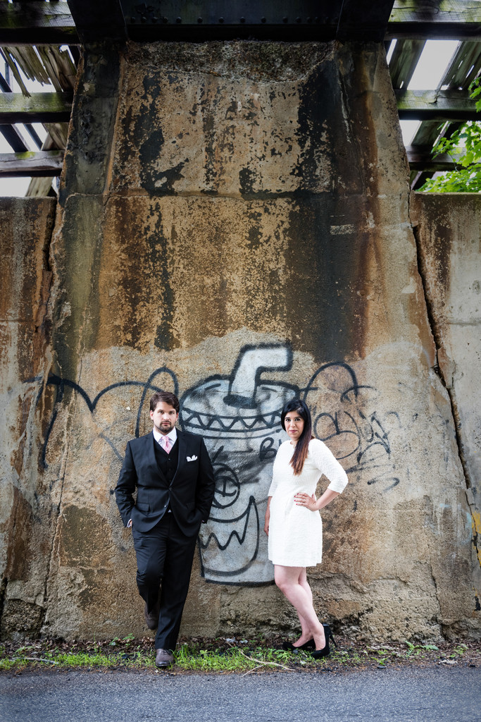 Engagement Session Abandoned Places Middletown NY