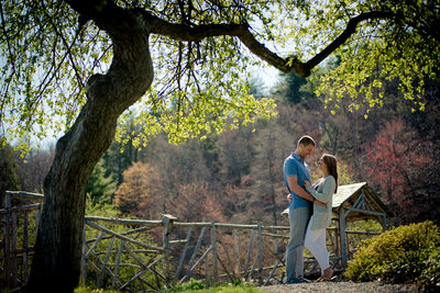 Mohonk Mountain House Spring Engagement NY