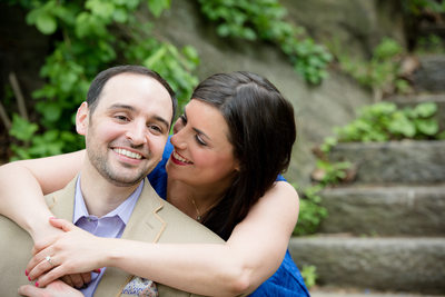 Engagement Pictures The Cloisters NY