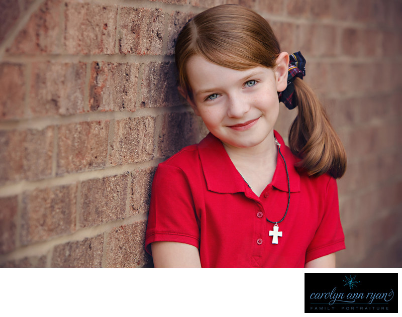 Back to School Portraits in Charlotte