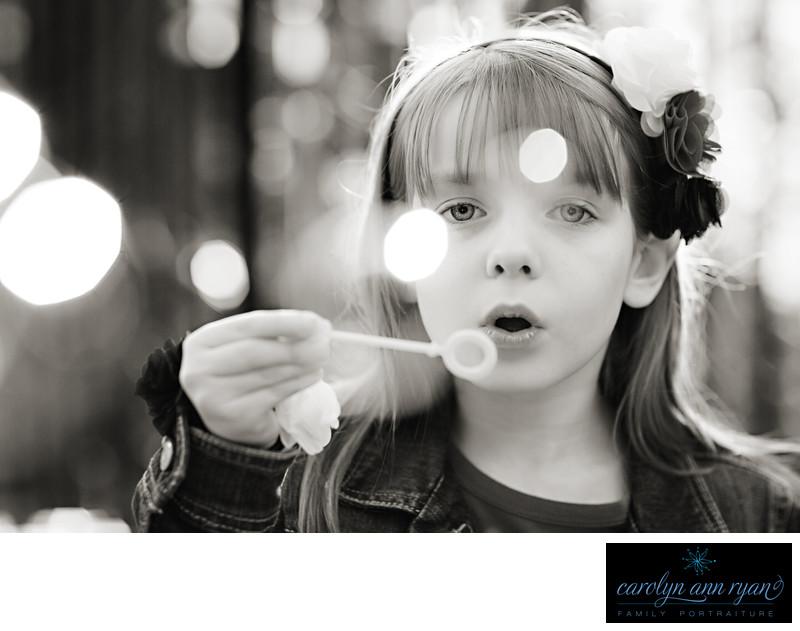 Charlotte Child Photographer Summer Portrait