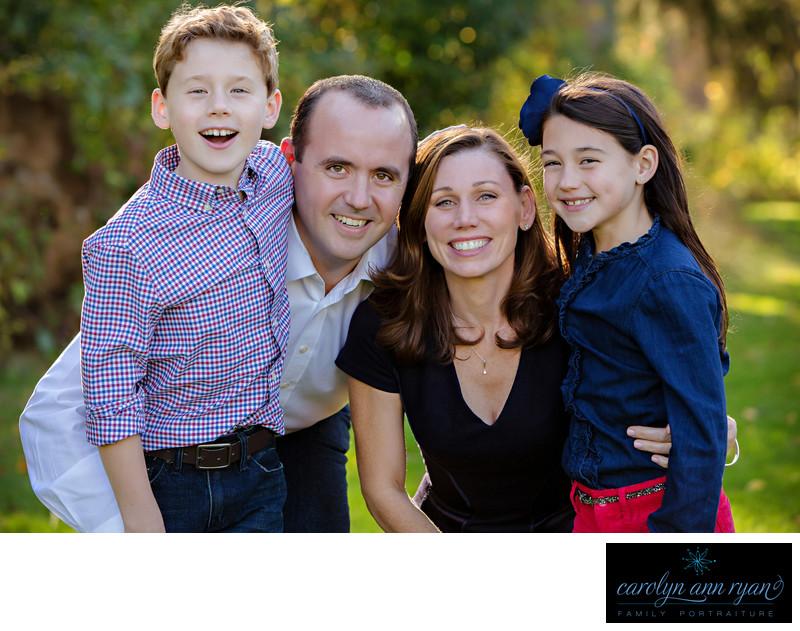 Charlotte NC Family Photographer Autumn Portraits