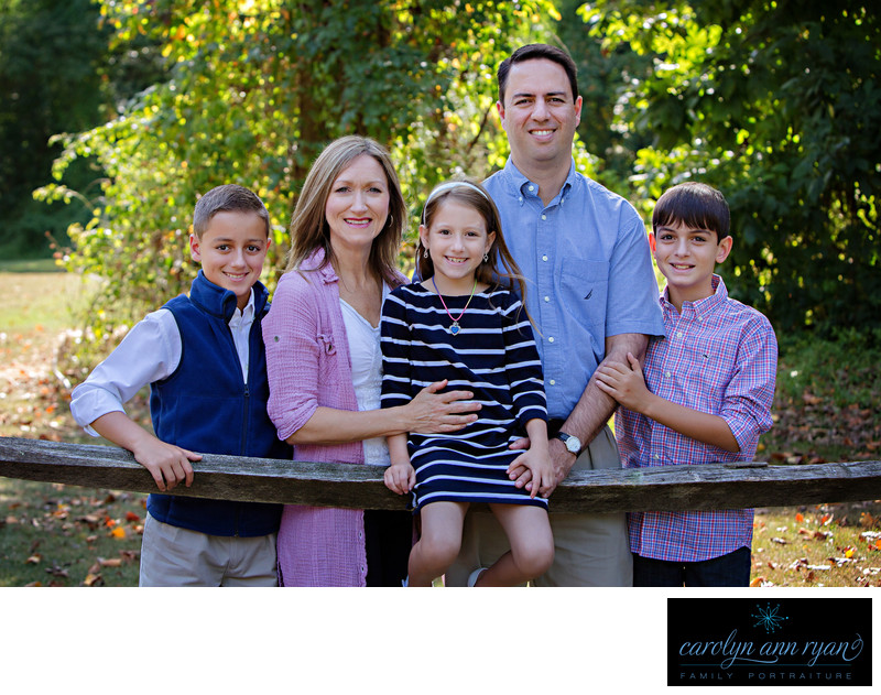 Enchanting Charlotte Outdoor Family Portraits