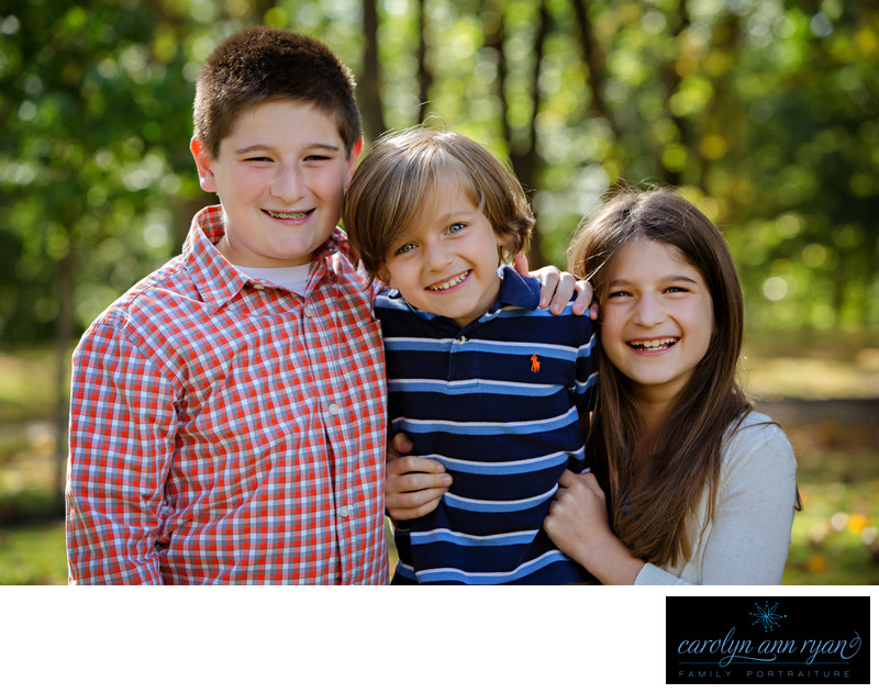 Charlotte NC Family Photographer Sibling Portraits