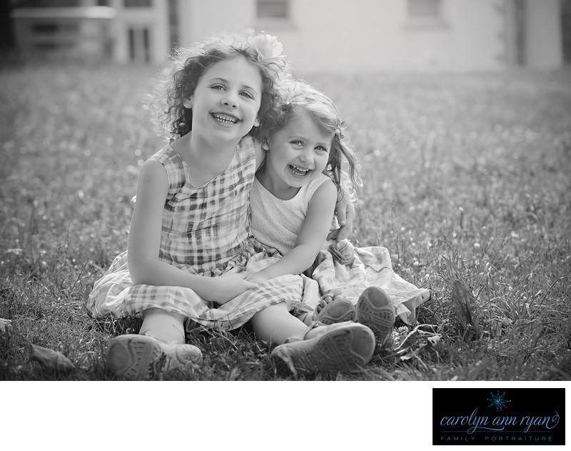 Sweet Sibling Portrait in Charlotte North Carolina