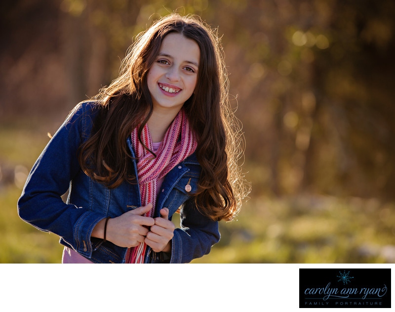 Stylish Charlotte NC Tween Portrait Session