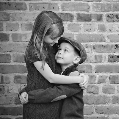 Sibling Portraits by North Carolina Family Photographer