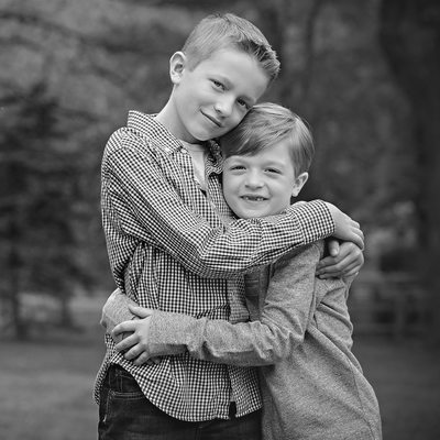 Charlotte Family Photographer Brother Portraits