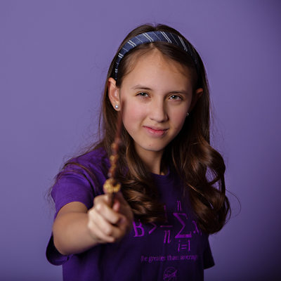 Harry Potter Wizard Inspired Tween Portraits Charlotte NC