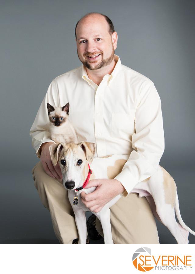 professional headshot for veterinarian in jacksonville