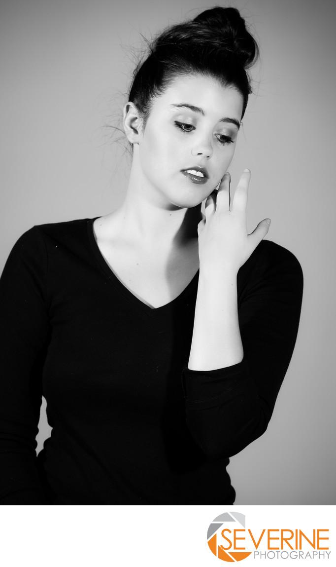 model posing photos black and white jacksonville