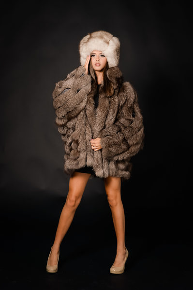 editorial magazine senior model fur studio jacksonville