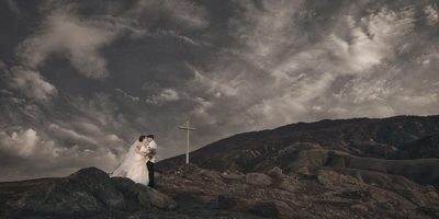 Mountainside Wedding Photograph C&B Pictures