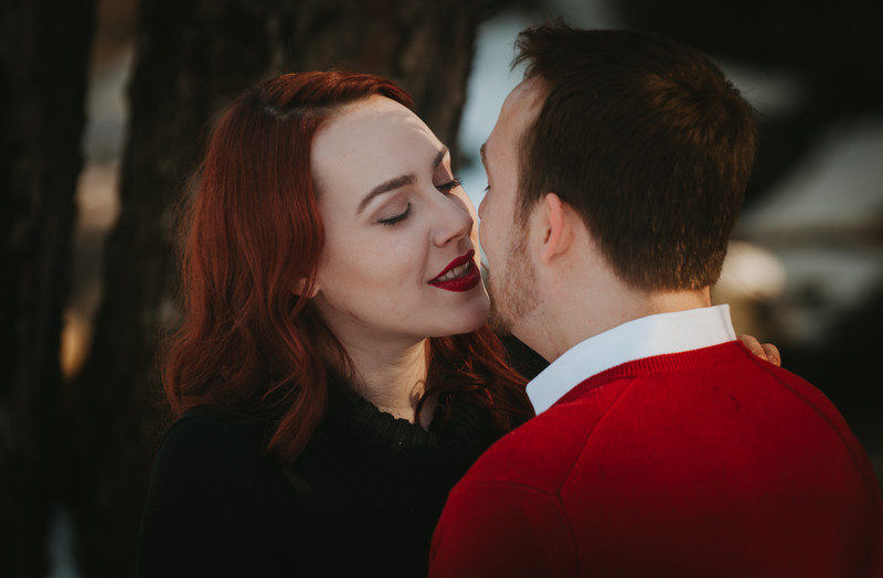 Winter Engagement in Arlington, VA