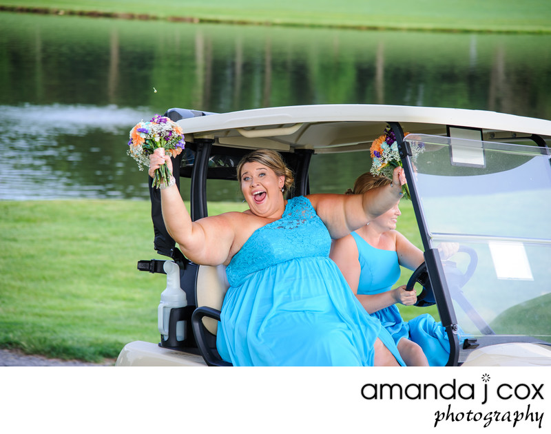 Concord Country Club Bridal Party Photographer