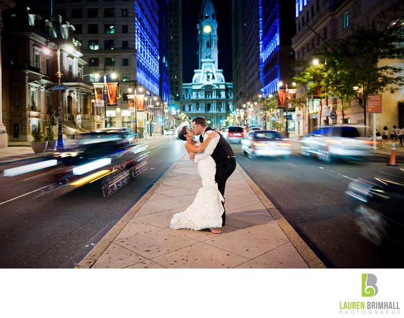 Broad Street Philadelphia City Hall Wedding