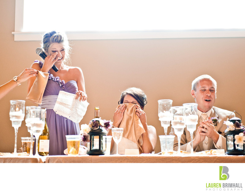 Wedding Speech Reactions