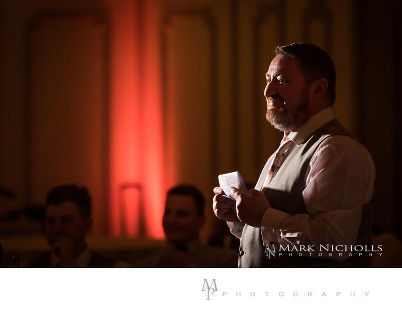 Maes Manor Wedding Reception