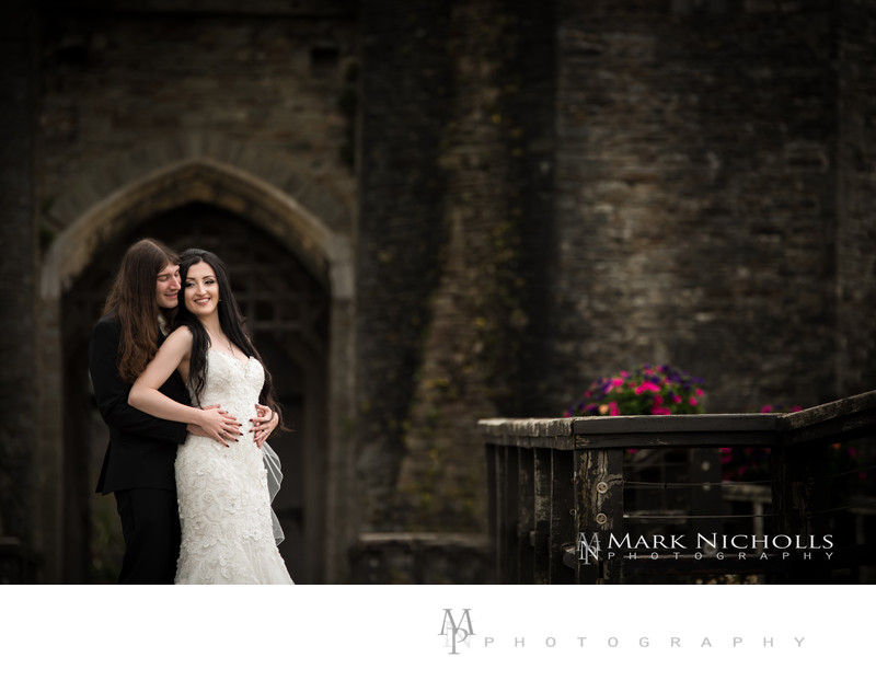 Couple Portraits at Caerphilly Castle