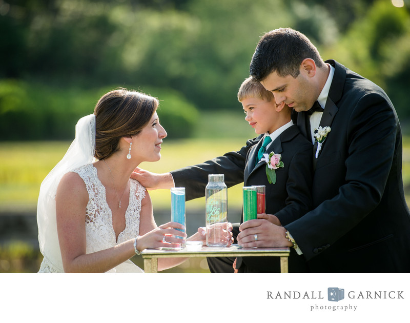 Willowbend Country Club wedding sand ceremony