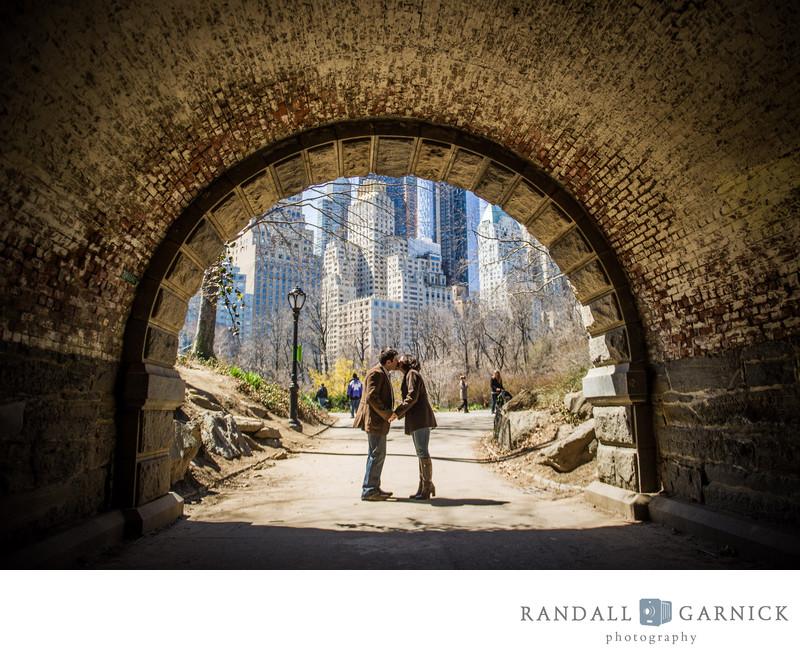 Central Park engagement photographer