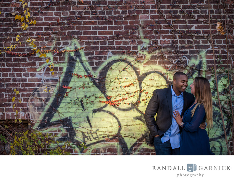 graphic engagement shoot