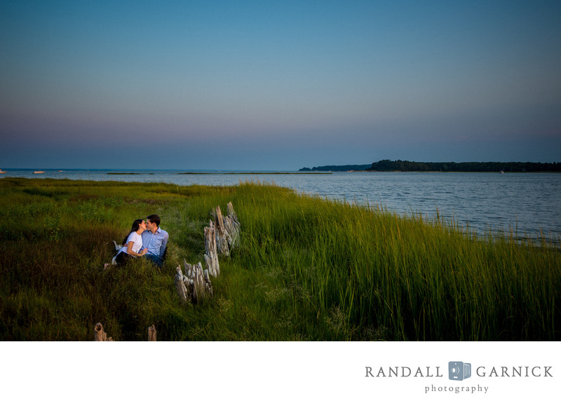 New England engagement photography