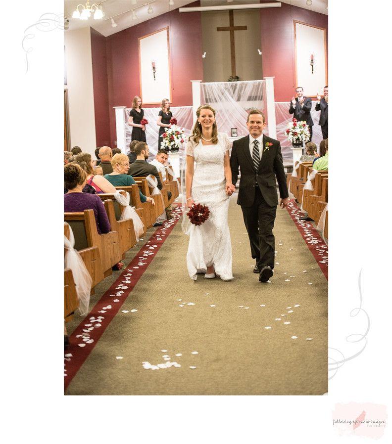 Wedding Photography Album Page
