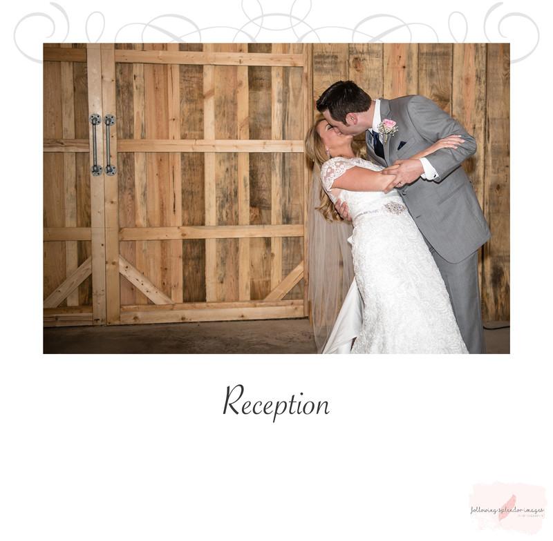 Fall Barn Wedding Album Page