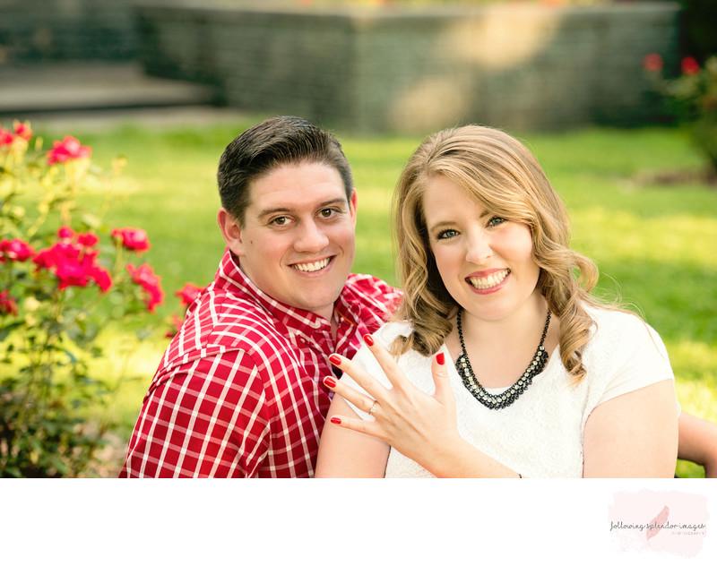 Little Rock Arkansas Engagement Photographer