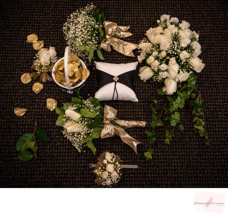Wedding Florals White Rose Bouquet