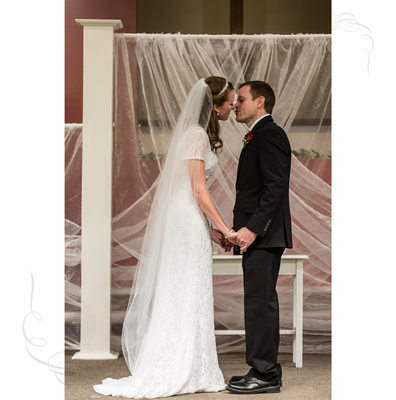Wedding Day Kiss