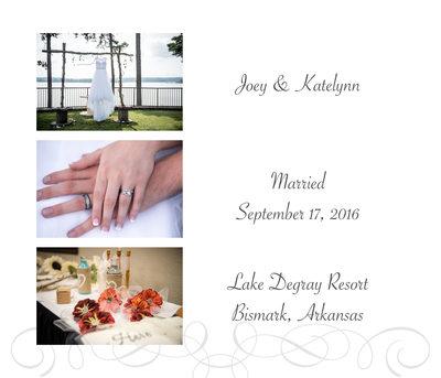 Wedding Details Album Page