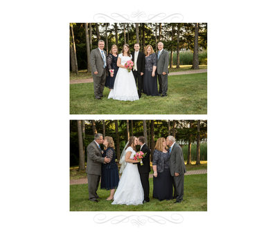 Wedding Album Family Page