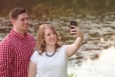 Selfie Engagement Photo