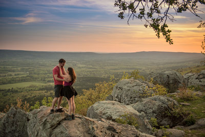 Petit Jean Suprise Proposal On Stout's Point