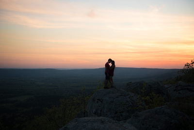Petit Jean Mountain Engagement Photography