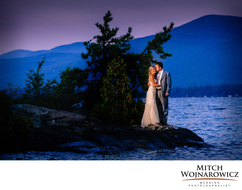 best lake george wedding photographer