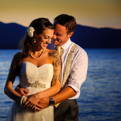 lake george wedding photography