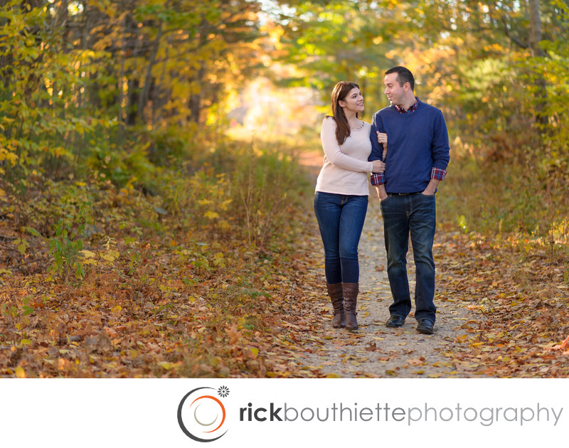 NH FALL ENGAGEMENT PHOTOGRAPHY