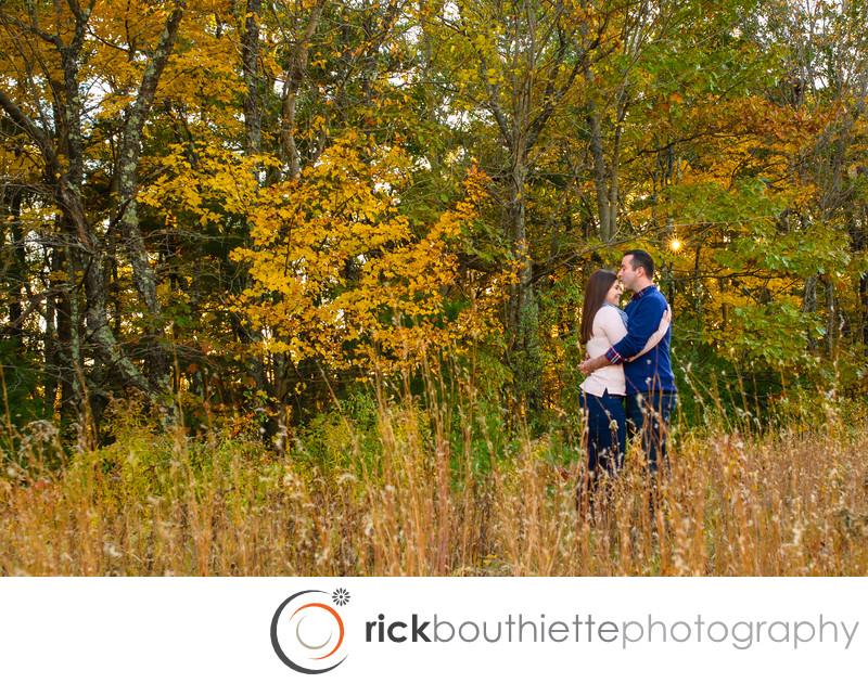 New Hampshire Fall Foliage Engagement Session