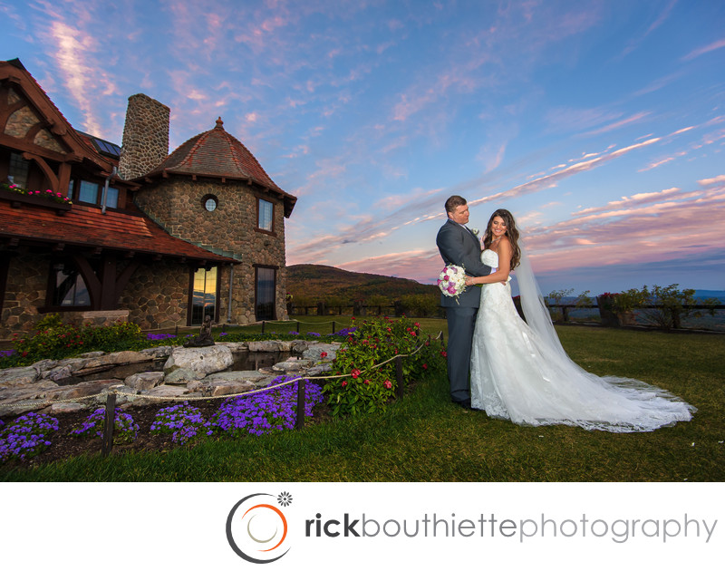 NEW HAMPSHIRE LAKES REGION CASTLE IN THE CLOUDS WEDDING