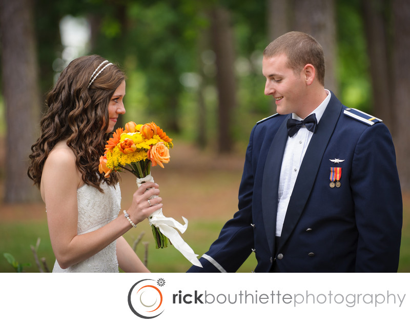 THE FIRST LOOK - VIRGINIA BEACH WEDDING