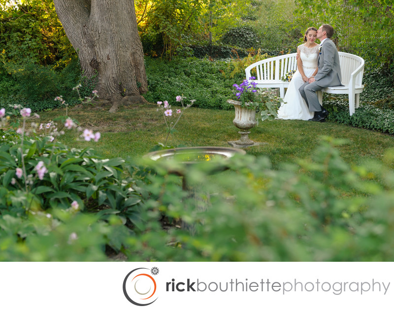 MOFFATT LADD HOUSE GARDEN WEDDING