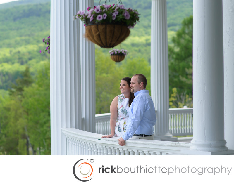 Mount Washington Omni Resort Engagement Photography