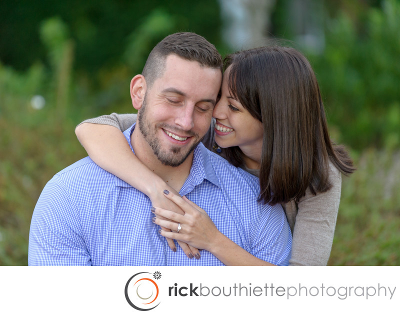 New Hampshire Romantic Engagement Photography