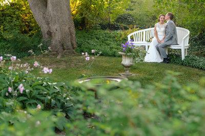MOFFATT LADD HOUSE GARDEN WEDDING